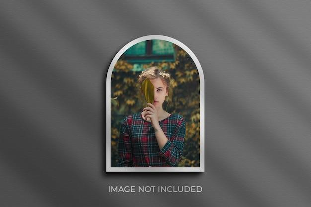 Fotorahmen mockup photoshop