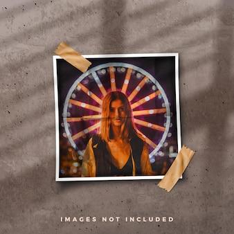 Fotorahmen moodboard collage modell