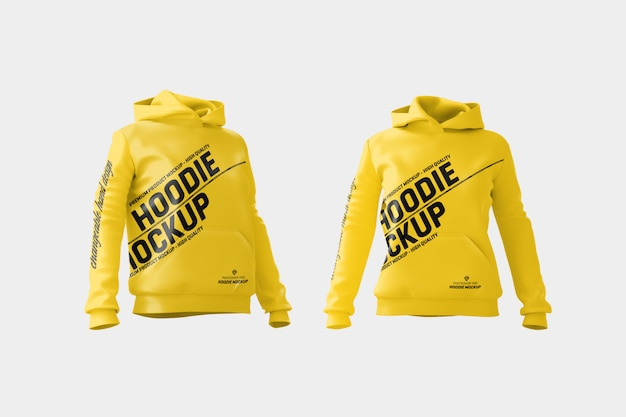 Frauen hoodie mock up