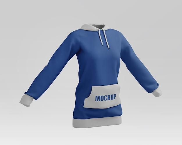 Frauen hoodie modell