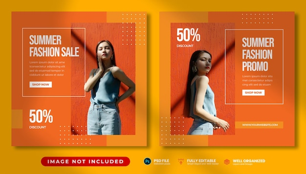 Frauen summer fashion sale promo