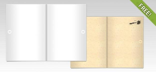 Free open book / magazine schauen ressourcen