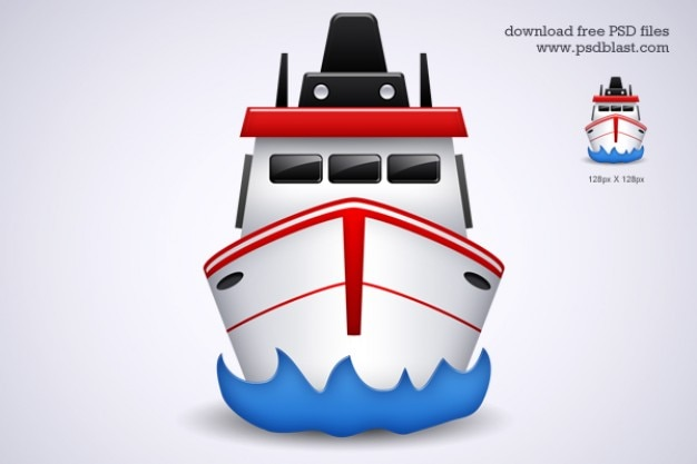 Free shipping transport icon psd