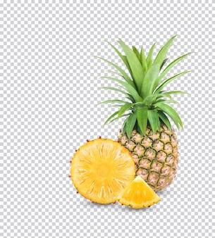 Frische ananas isoliert