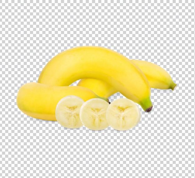 Frische banane isoliert premium psd