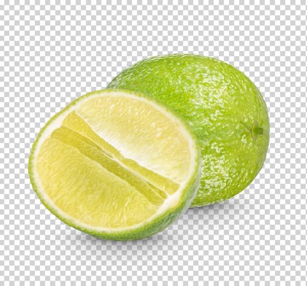 Frische limette isoliert premium psd
