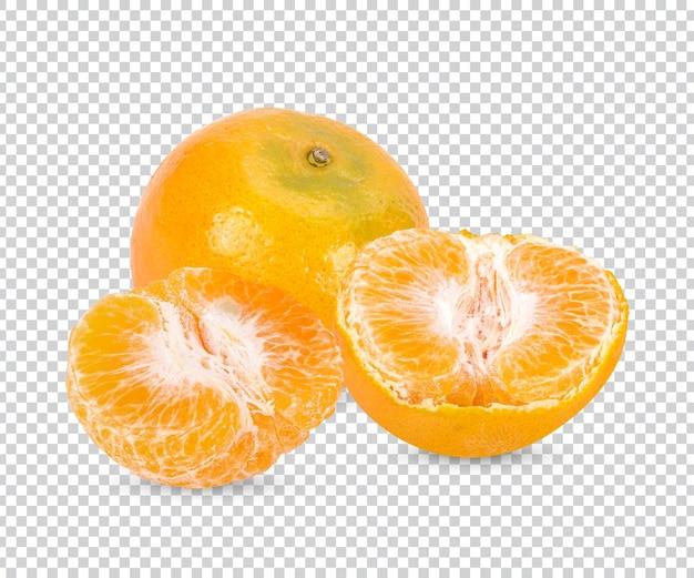 Frische orange isoliert premium psd