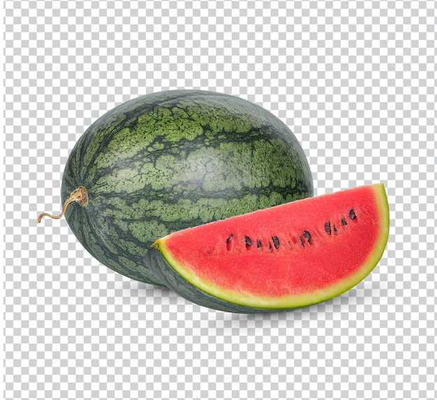 Frische reife wassermelone isoliert