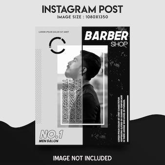 Friseursalon instagram post
