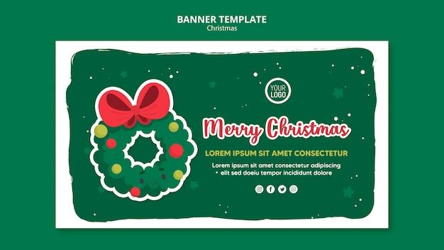 Frohe weihnachten anzeigenvorlage quadratischen flyer
