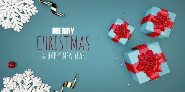 Frohe weihnachten wohnung lag illustration