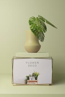 Frühlings-deko-konzeptmodell
