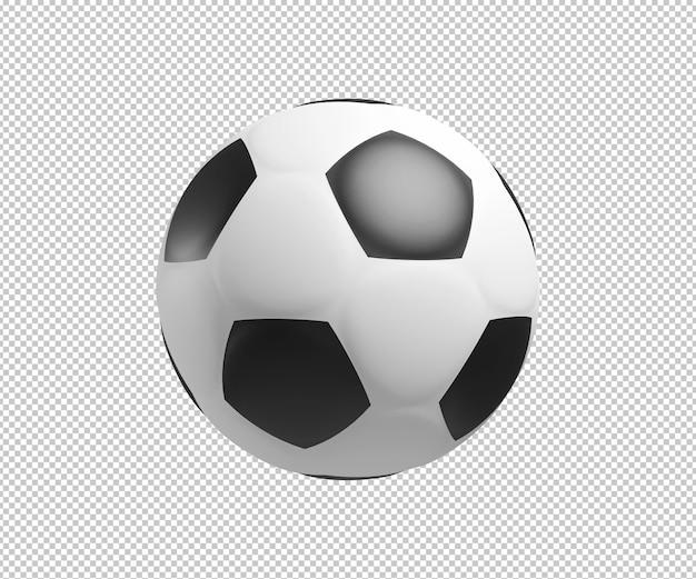 Fußball 3d illustration