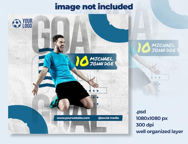 Fußballsport-social-media-banner-vorlage