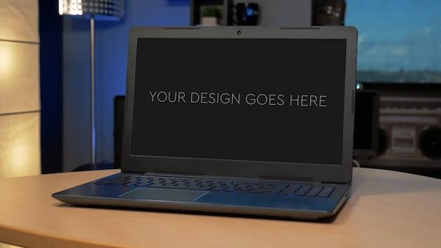 Gaming laptop display modell