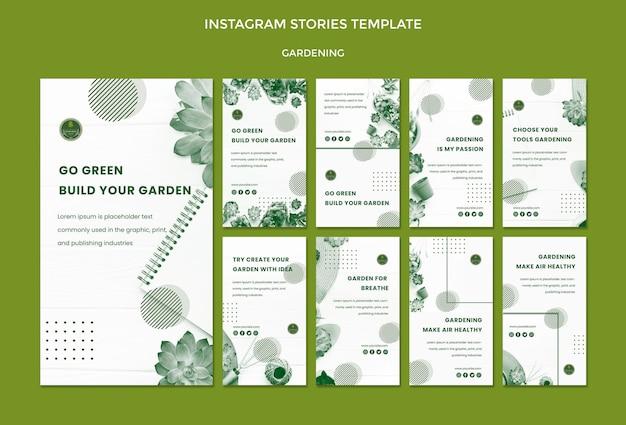 Garten instagram geschichten
