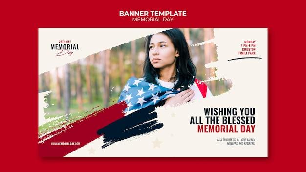 Gedenktag banner vorlage