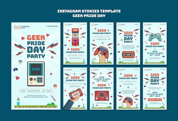 Geek pride day social media geschichten