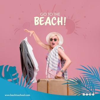 Gehe zur strandvorlage