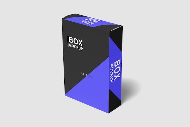 Geniales slim box mockup