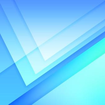 Geometrischer blauer hintergrund