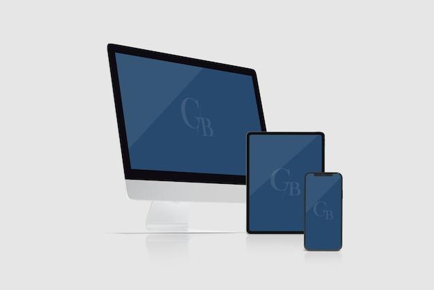 Geräteansicht für vorderansicht Premium PSD