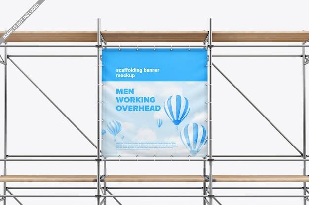Gerüstwerbung banner modell