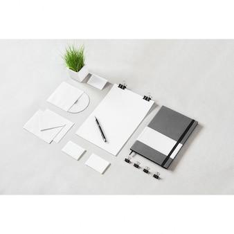 Geschäftsdrucksachen mock-up-design