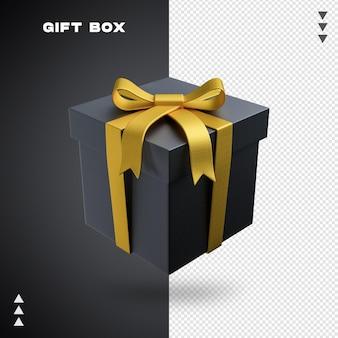 Geschenkbox 3d-rendering isoliert