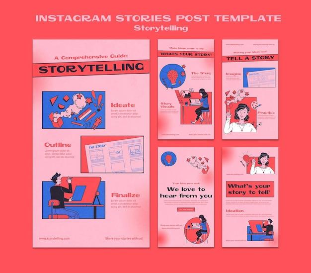 Geschichtenerzählen instagram geschichten