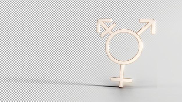 Geschlechtsidentitätssymbole - bi 2