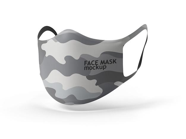 Gesichtsmaskenmodell Premium PSD