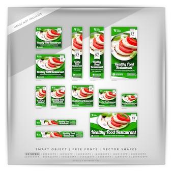 Gesundes lebensmittel marketing google & facebook ads