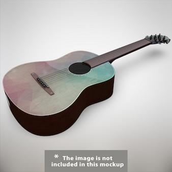 Gitarre mock-up-design