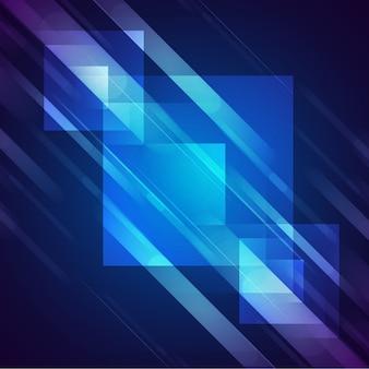 Glänzende quadrate hintergrund design