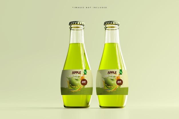 Glas-getränkeflaschen-modell