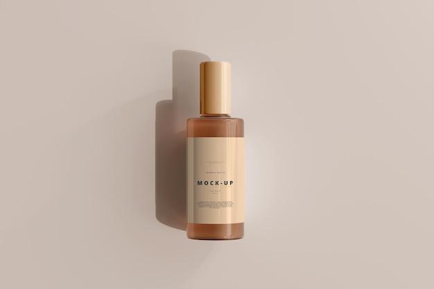 Glas kosmetikflasche modell