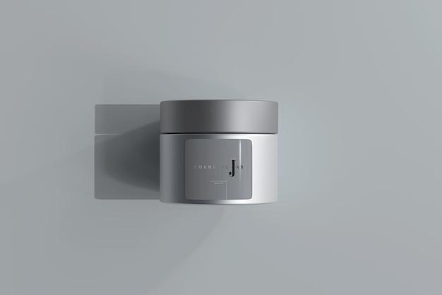 Glas kosmetikglas modell