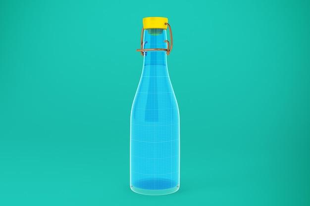 Glasflasche wasser Premium PSD