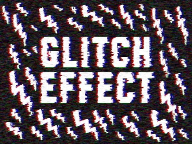 Glitch-effekt für ihre bilder