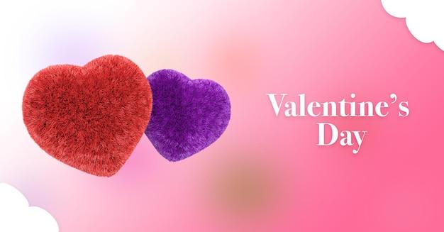 Glücklicher valentinstag grußherde