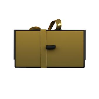 Gold & dark geschenkbox modell