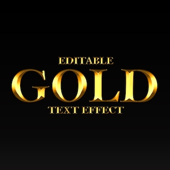 Gold textstil