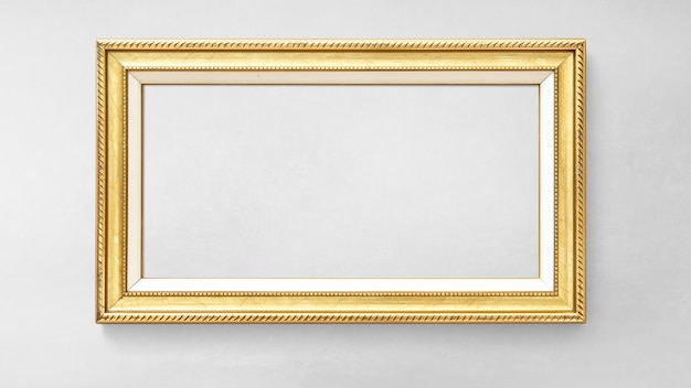 Goldbild-frame-modell