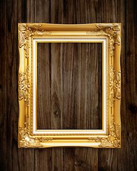 Goldbilderrahmenmodell