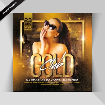 Goldclub-party-flyer