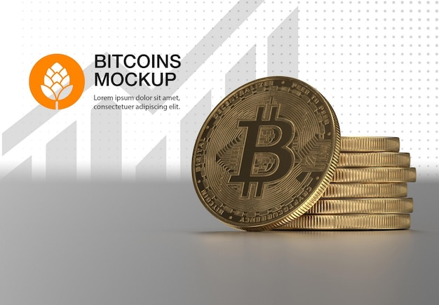 Goldenes bitcoin-modell