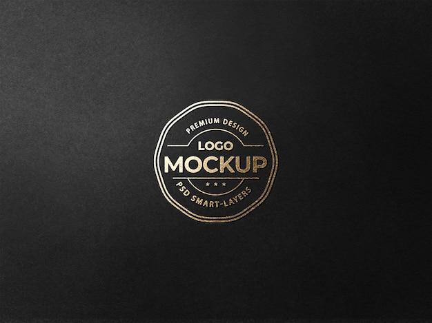 Goldfolien-logo-modell