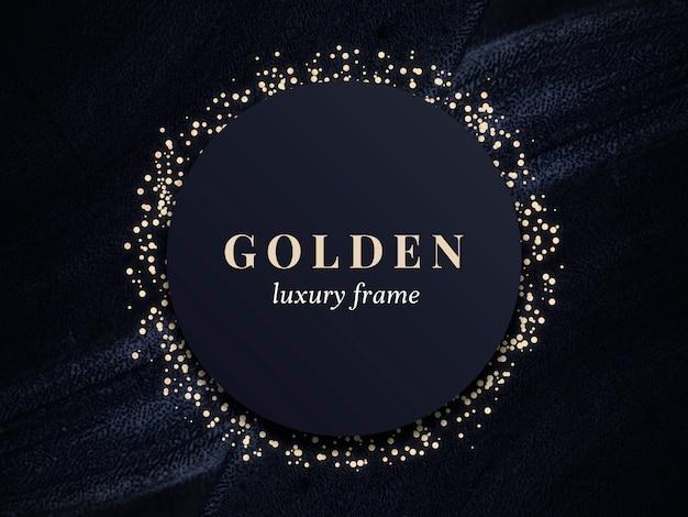 Goldluxusrahmen
