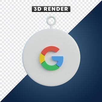 Google app-symbol 3d-objekt